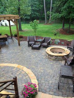 patio & fire pit ideas, back patio, patio fire, decks and patio ideas, dream
