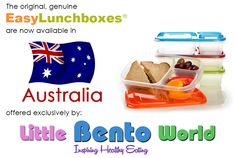 EasyLunchboxes are now available in Australia from @LittleBento