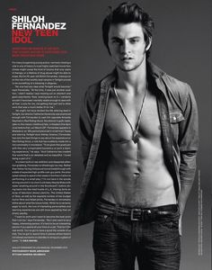Shiloh Fernandez super sexy have had a crush on him since I saw him on Drake & Josh & he is in 2 of my fave movies Deadgirl & Red Riding Hood