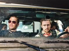 Taylor Kitsch and Aaron Johnson in Savages in W