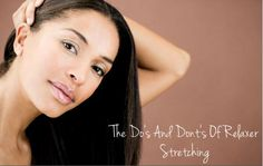 Stretching Relaxers: Do's And Don't  Read the article here - http://www.blackhairinformation.com/by-type/relaxed-hair/stretching-relaxers-dos-dont/ #relaxedhair #stretching