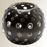 Obsidian Bubble Tea Light, $19