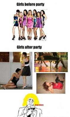 girls and parties