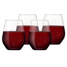 Spiegelau - Authentis Casual Bordeaux Set 4pce @Caris Baker cari baker
