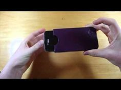 This is a video review of the Calypso Case deluxe genuine leather iPhone case for the iPhone 4 and 4S.