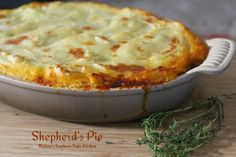 Shepherd's Pie Recipe from Melissa's Southern Style Kitchen