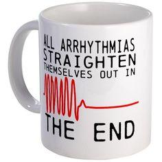 Arrhythmia mug. #nurse #cardiac