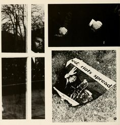"""Athena yearbook, 1968. """"The King is dead! It echoed in microphones; and hearts were horrified throughout the campus, country, and world. Martin Luther King Jr. started a dream, but a bullet couldn't shatter it..."""" Ohio University Archives."""