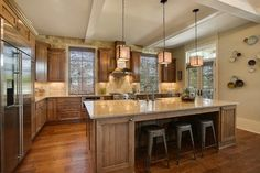 M&M Show House 2011 - transitional - kitchen - new orleans - Maria Barcelona Interiors, LLC