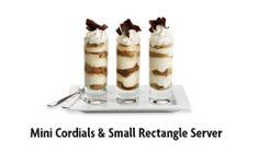 Mini Cordials & Small Rectangle Server-Pier 1
