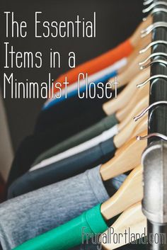 Even minimalists need some clothes. Here are the 20 essential items in a minimalist closet.