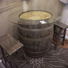 Barrels on pinterest 22 pins for Botti per arredamento