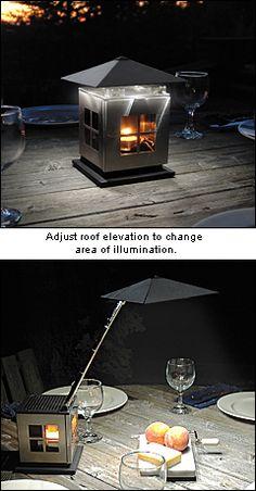 candle powered LED lantern