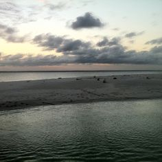Getting dark in KAE, Zanzibar
