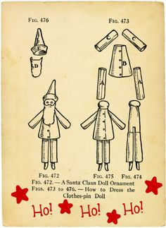 clothes pin doll