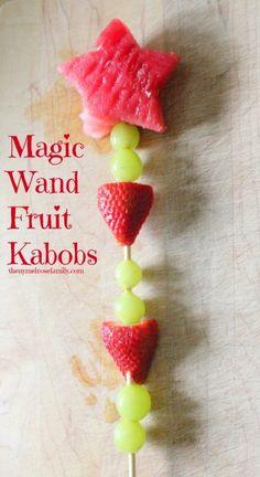 Magic Wand Fruit Kabobs