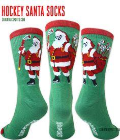 These Hockey Santa S
