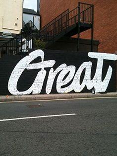 Typography. Great. CaribouInspires.com
