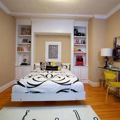 Bedroom Design, Pictures, Remodel, Decor and Ideas - page 11 . ideas for jillian's desk shelves