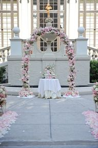 Disney Castle Wedding theme