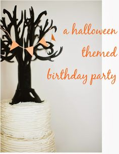 A halloween-ish birthday party