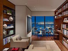 Interior shots modern home office / Sitting