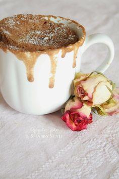 Apple Pie and Shabby Style: Come ti riciclo latte e biscotti {MugCake}