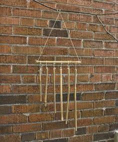 Make your own bamboo wind chime