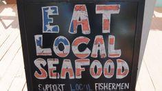 Eat some fresh Florida seafood