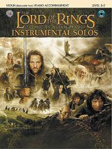 Music from all three films arranged for string instruments. Desirable and collectible, these instrumental folios are loaded with full-color photos of scenes from all three films. #music #lordoftherings #sheetmusic