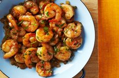 Lemon-Cilantro Shrimp for Two