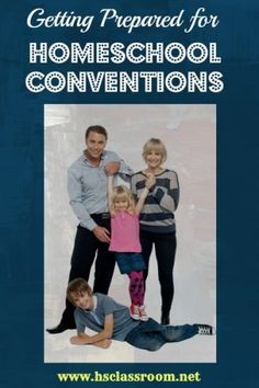 getting prepared for homeschool conventions