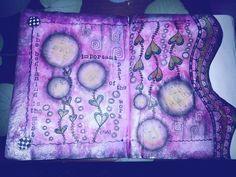 Timeless Rituals: The Beginning #art journal #mixed media #flower