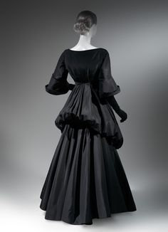 Charles James (American, born Great Britain, 1906–1978). Opera coat, 1956. The Metropolitan Museum of Art, New York. Gift of Lord and Taylor, 1957 (C.I.57.27) #CharlesJames