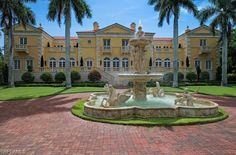 Italian style mansion in Naples, Florida