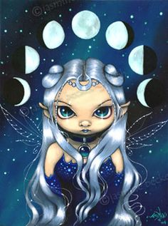 Jasmine Becket-Griffith - Fairy Of The Changing Moons