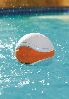 Designed to float along on the surface while you lounge in the pool, bath, or hot tub, this high-quality waterproof speaker streams your favorite tunes!