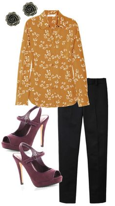 business casual outfit find more women fashion on www.misspool.com