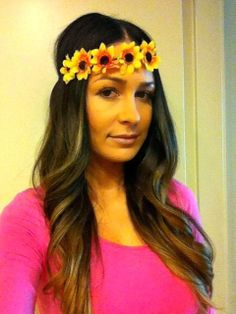 Flower Headband | Be Festival Ready by ShopCandi on Etsy, $18.00