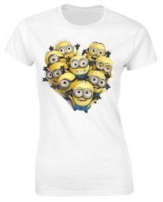 Minion heart shirt. Yes. @Courtney Baker Asher @Jess Liu Tong