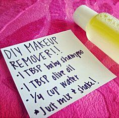 DIY Makeup Remover (LIKE)