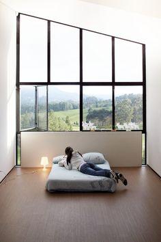 sleep here • house on the slope • el retiro, antioquia, colombia •  paisajes emergentes, architect #window