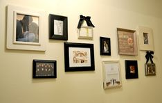 Tips on photo frame hanging