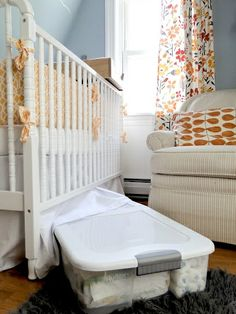 My So-Called Home: 5 Space-Saving Tips for Nurseries