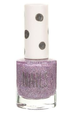 Glitter. Nail polish. Purple. Enough said.