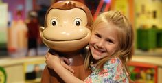 Love Curious George? He's coming to LSC in his own exhibit February 16 - May 12, 2013. Play mini golf, climb into a rocket, visit a farm and more. Ages 3-8.