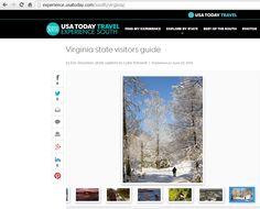 Imagine that, the EJC Arboretum at JMU featured in a Photo Tour on USA TODAY TRAVEL, jmu.edu/arboretum