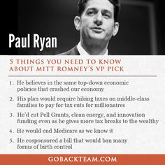 Paul Ryan: Five things you need to know