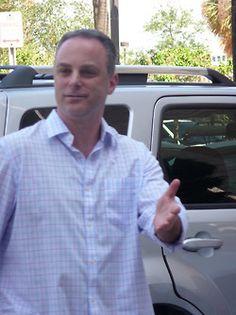 Scott Stanford at his hotel WM28