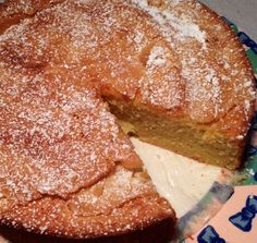 almond cake--even a...